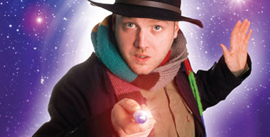 doctor who comedian toby hadoke at oldham coliseum theatre