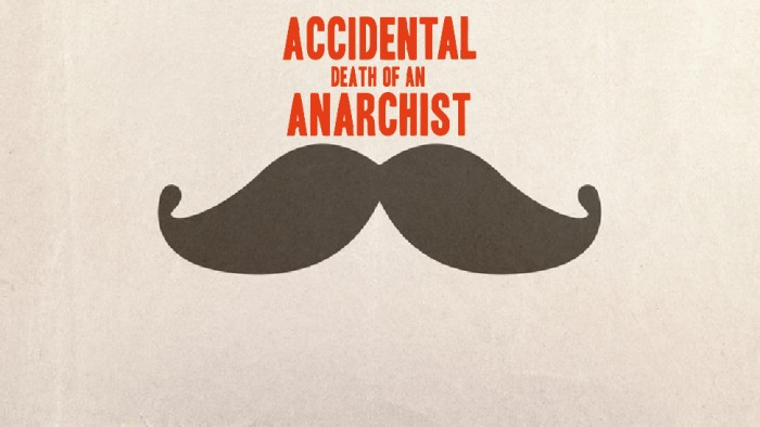 accidental death of an anarchist The brothers marx, karl and groucho, have been working in unison when broad farce and social protest miscegenate the offspring is a real cracker.