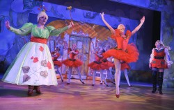 Zoei Cozens ballet in Jack and the Beanstalk