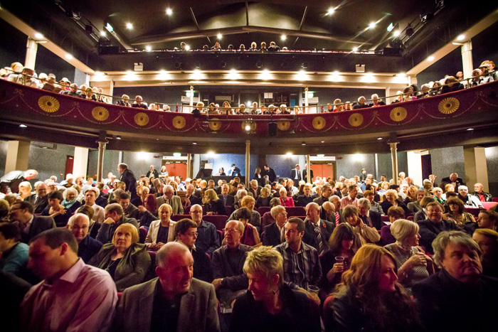 Oldham Coliseum Theatre audience