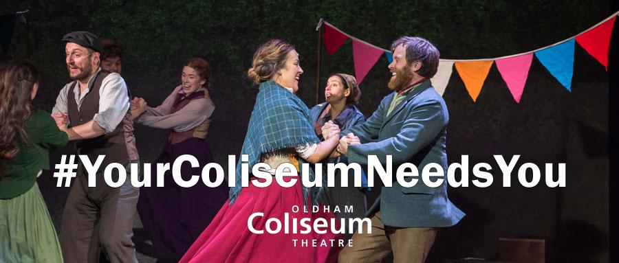 Your Coliseum Needs You
