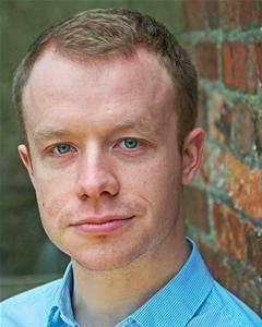Gareth Cassidy in The Life and Times of Mitchell and Kenyon at Oldham Coliseum Theatre
