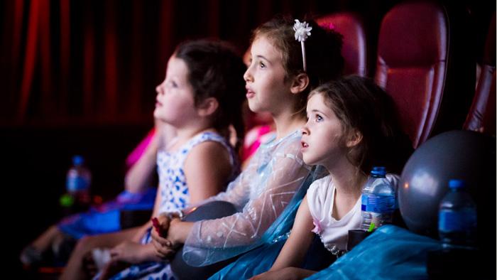 Singalonga Frozen audience