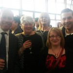 Team Coliseum at the Manchester Theatre Awards