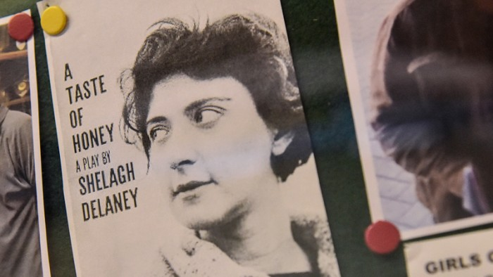 Shelagh Delaney image at Salford Lads Club