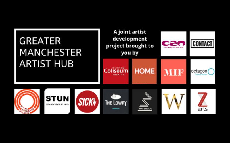 GM Artist Hub venue logos