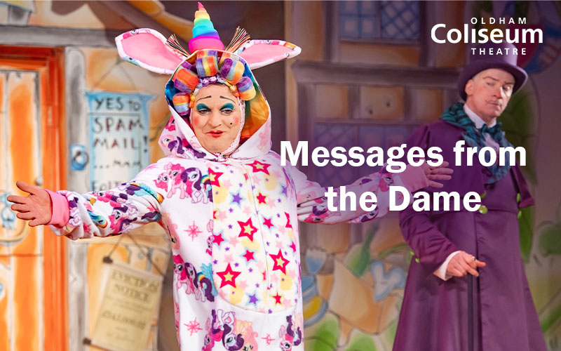 Messages from the Dame