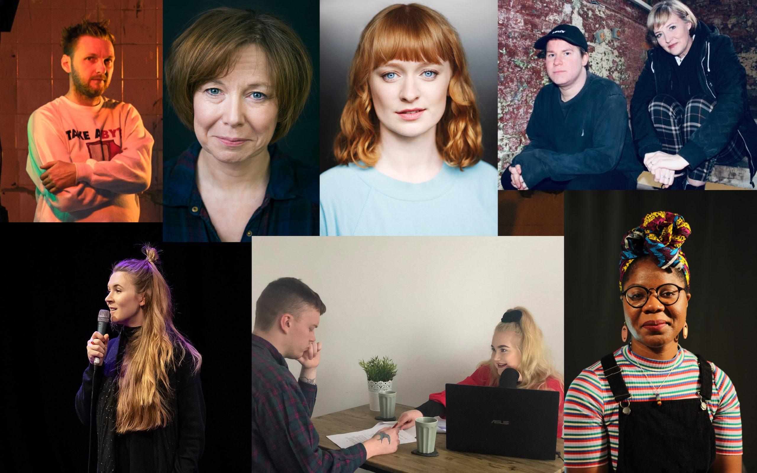 Grant Archer, Joyce Branagh, Tori Burgess, Dare To Know Theatre, Caitlin Gleeson, Rowan Prescott and Chloe Heywood, Jade Williams